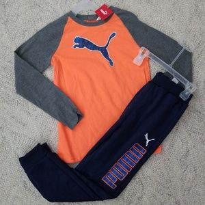 7 / 8 Boys Puma Set NWT